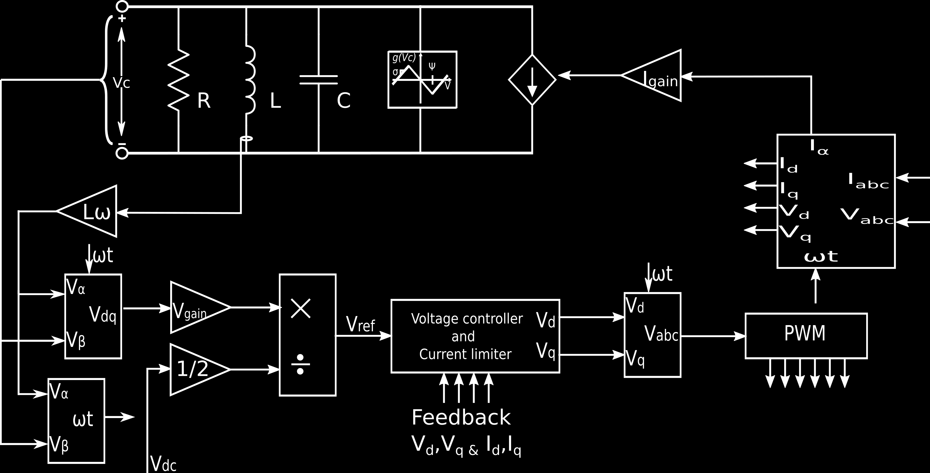 Single Stage High Frequency Isolated Grid Connected Inverter Circuits In This Case Is The Crystal Drive Circuit Fig 1 A Figure 2 Non Linear Rlc Oscillator 4 Implementation Of