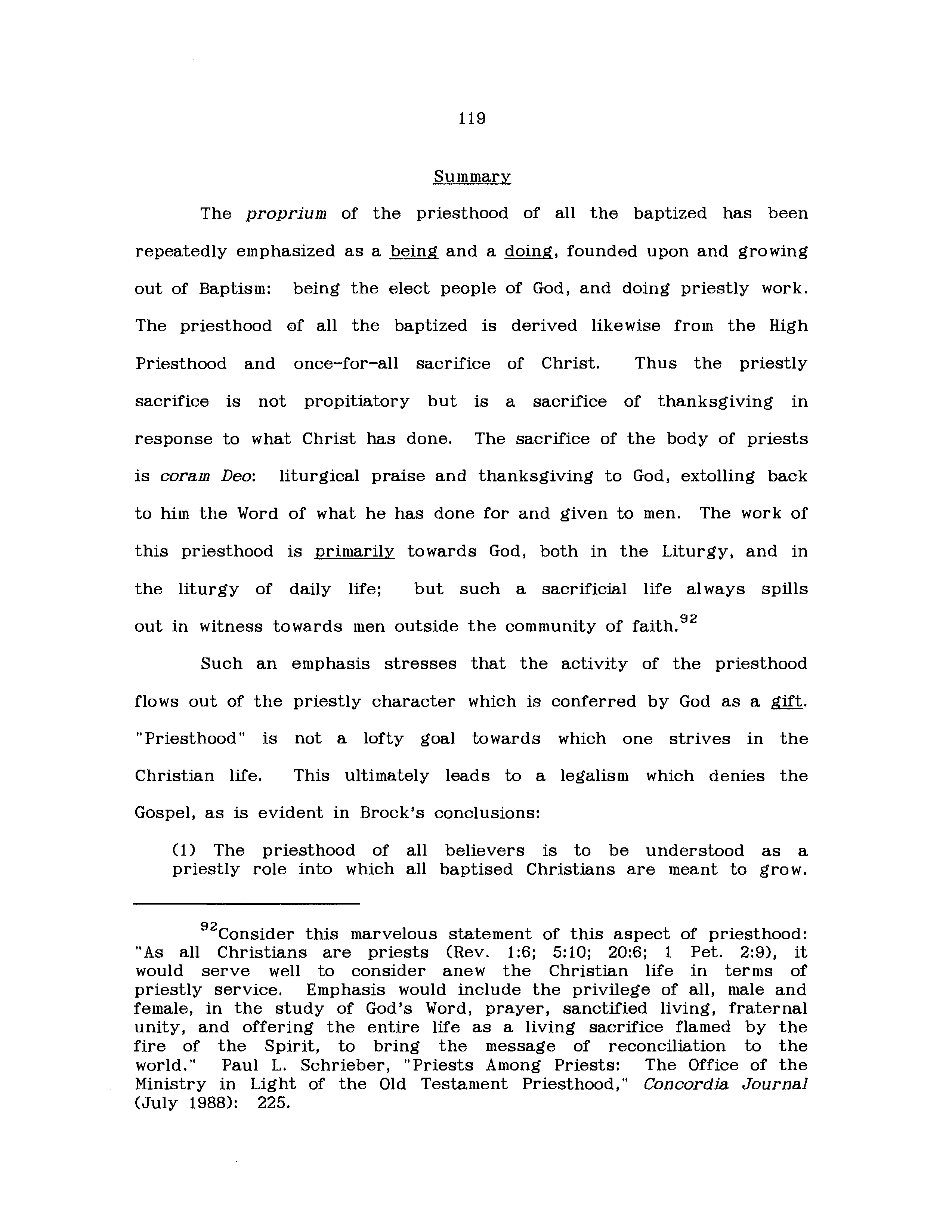summary of the trial of brother jero
