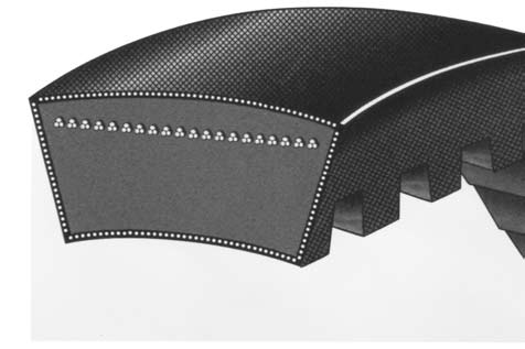 74 Length MBL 2RB74 Conventional Banded V-Belt B Type 2//3 Wide X 2 Ribs