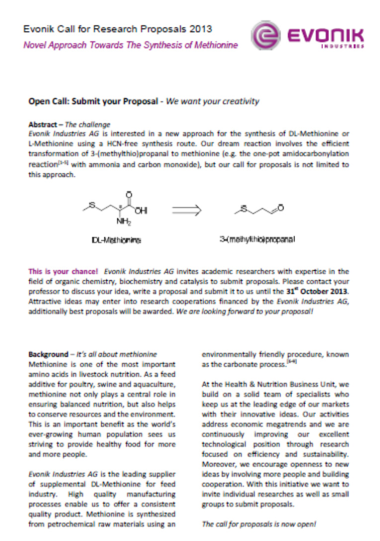 Open Innovation, Ideation Contests & Evonik Industries - PDF