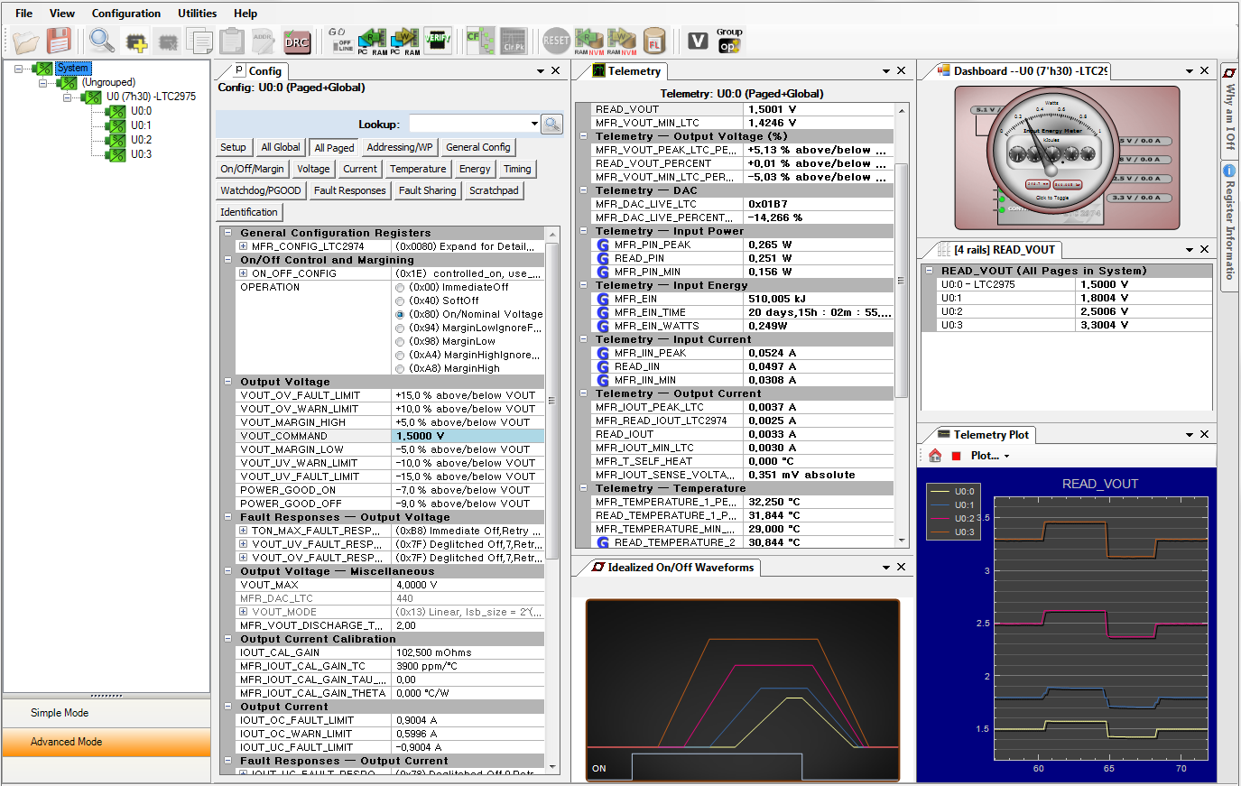 Ltc Channel Pmbus Power System Manager Featuring Accurate Input Modify Old Battery Charger Into Automatic Using Scr And Ca723 Applications Information Ltpowerplay An Interactive Gui For Managers Is A Powerful Windows Based