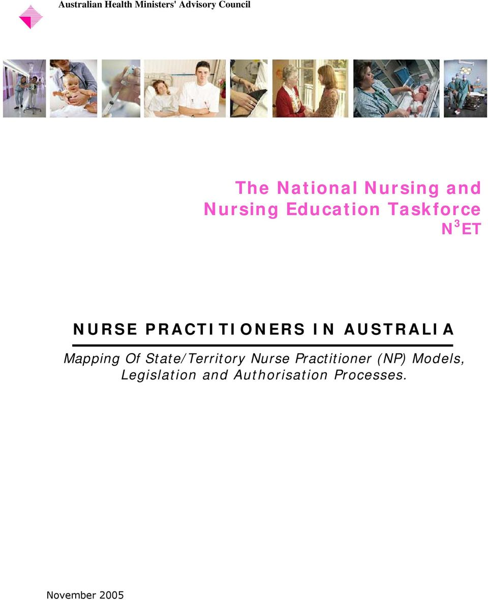 ET Mapping Of State/Territory Nurse Practitioner (NP)