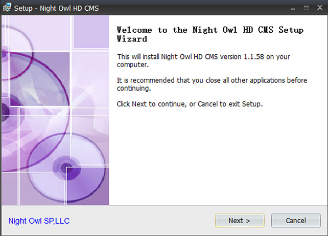 NIGHT OWL HD CMS REMOTE VIEWING SOFTWARE FOR PC / MAC SETUP