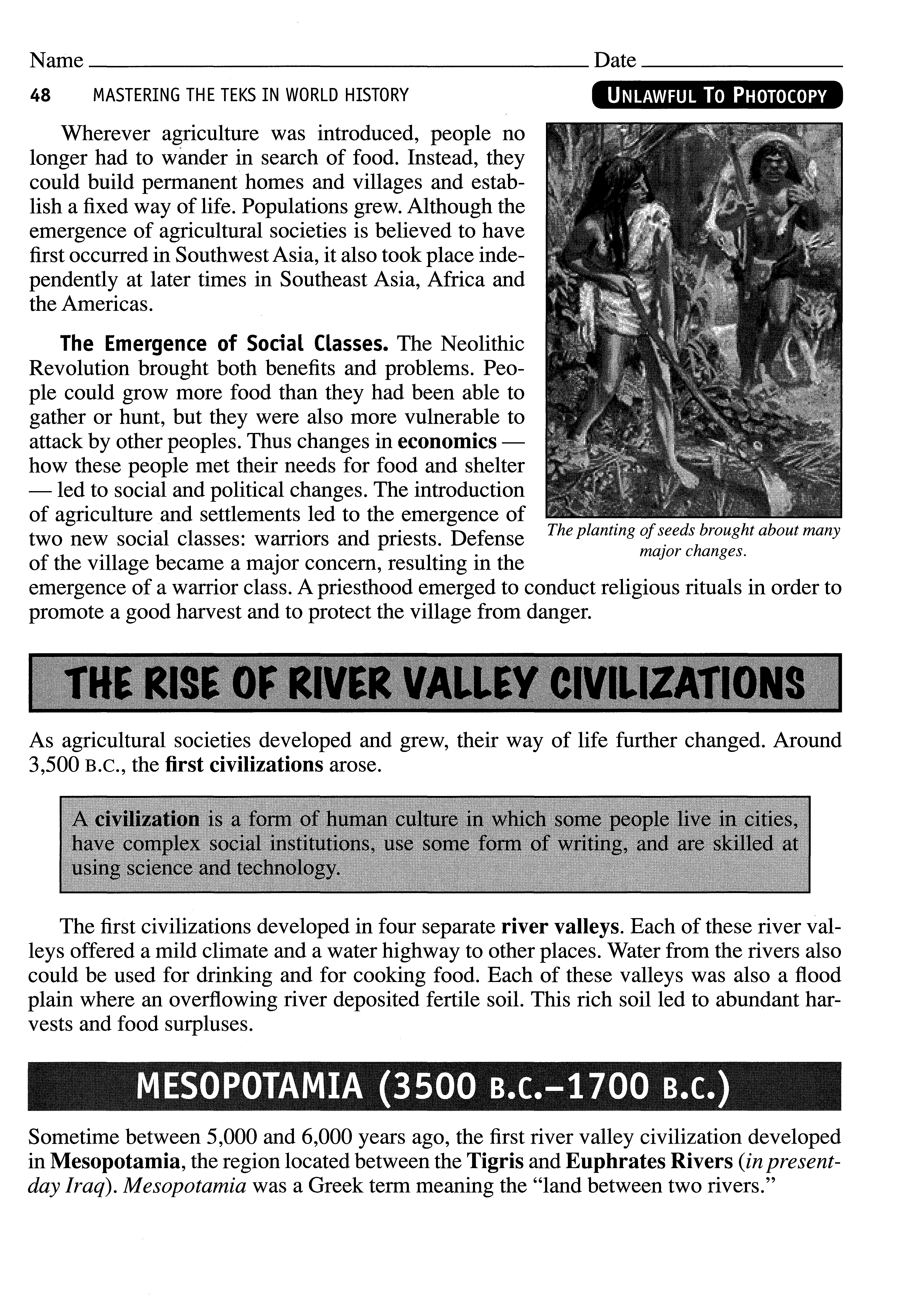 The Rise Of River Valley Civilizations Pdf