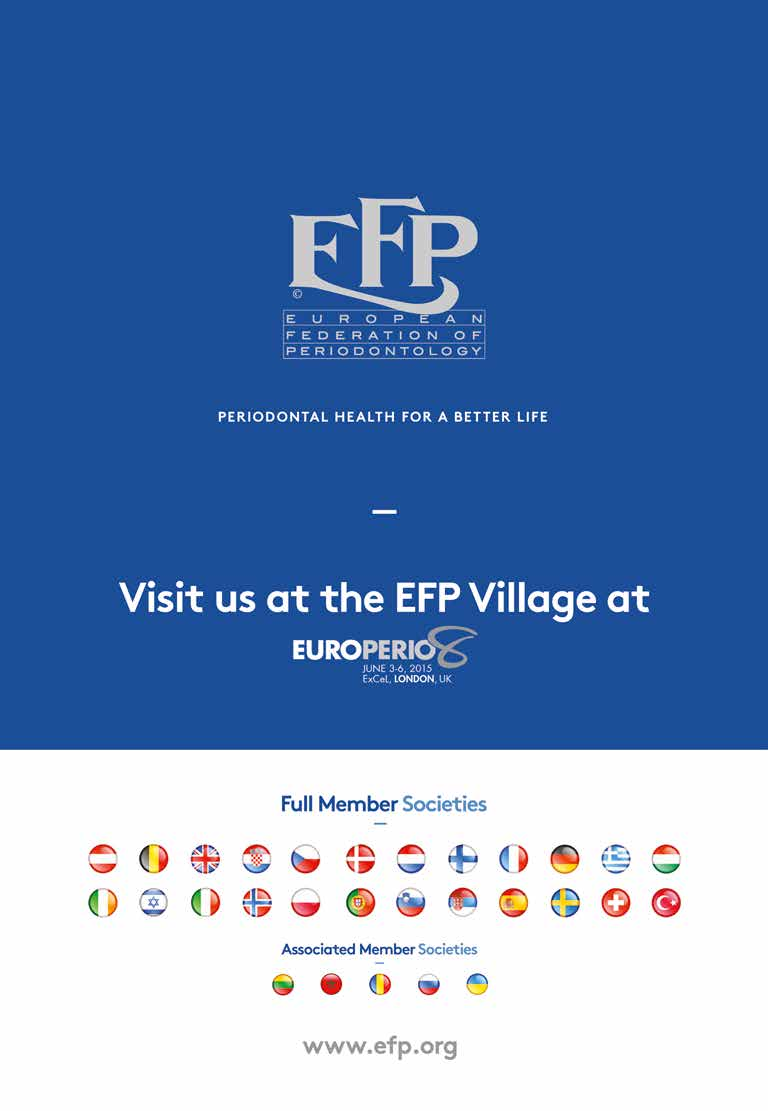 FINAL PROGRAMME 8 TH CONFERENCE OF THE EUROPEAN FEDERATION