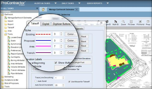 p a g e 7 procontractor earthwork procontractor offers earthwork takeoff software that is tailored to the needs