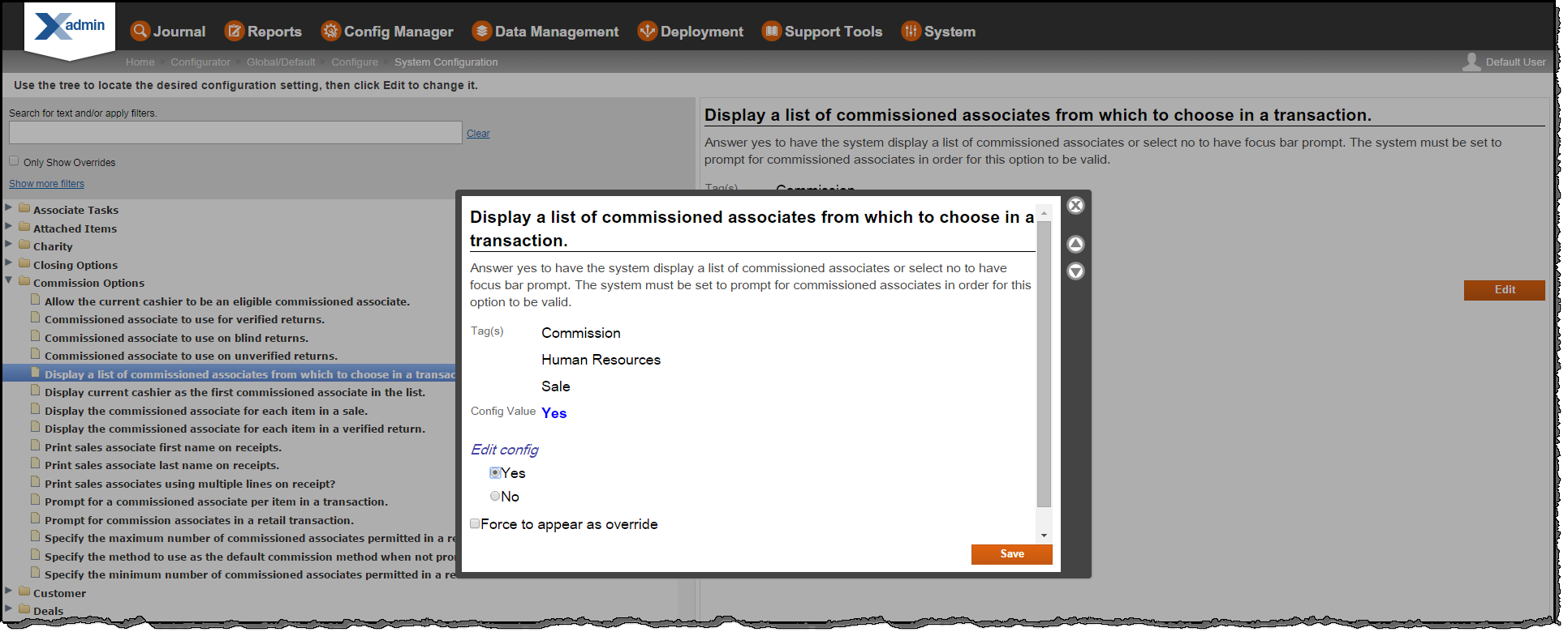 Version 7.1 User Guide in this section. See About Configuration Overrides  on page 92.