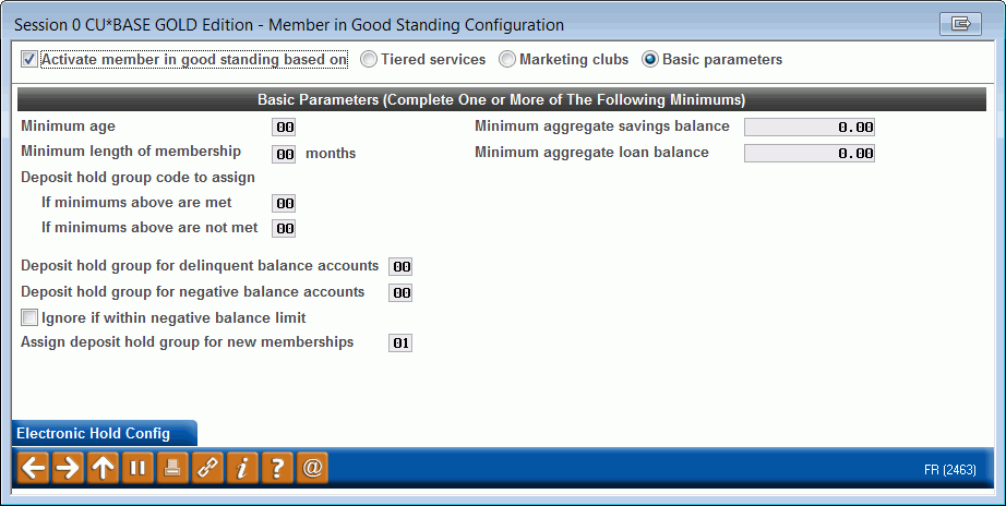 Electronic Deposit Holds and the Member In Good Standing