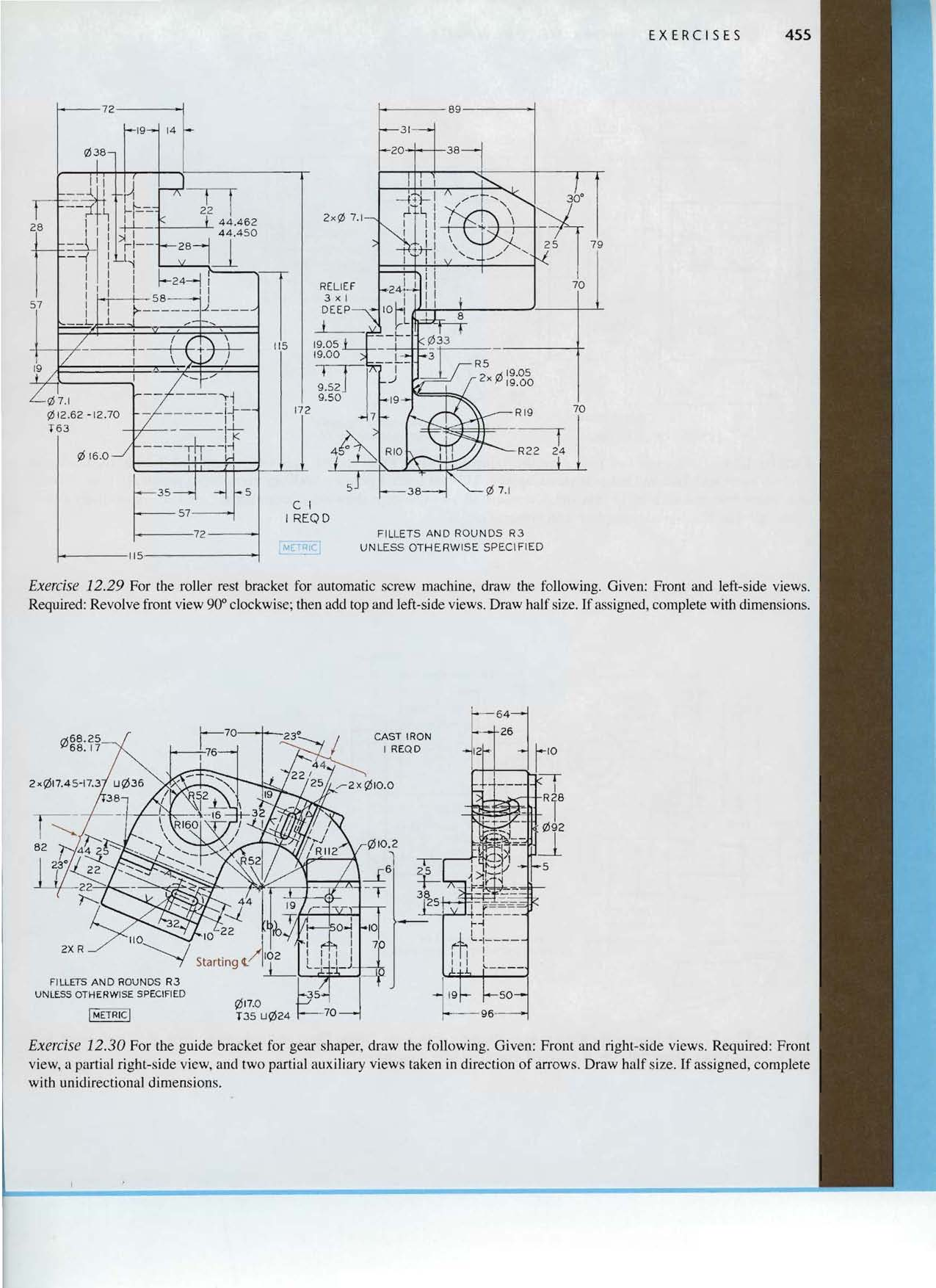 Chapter Twelve Working Drawings Objectives After Studying The T35 Wiring Diagram Ex Ere 5 E5 455 28 L 44462 44450 2a Tl 2x 71