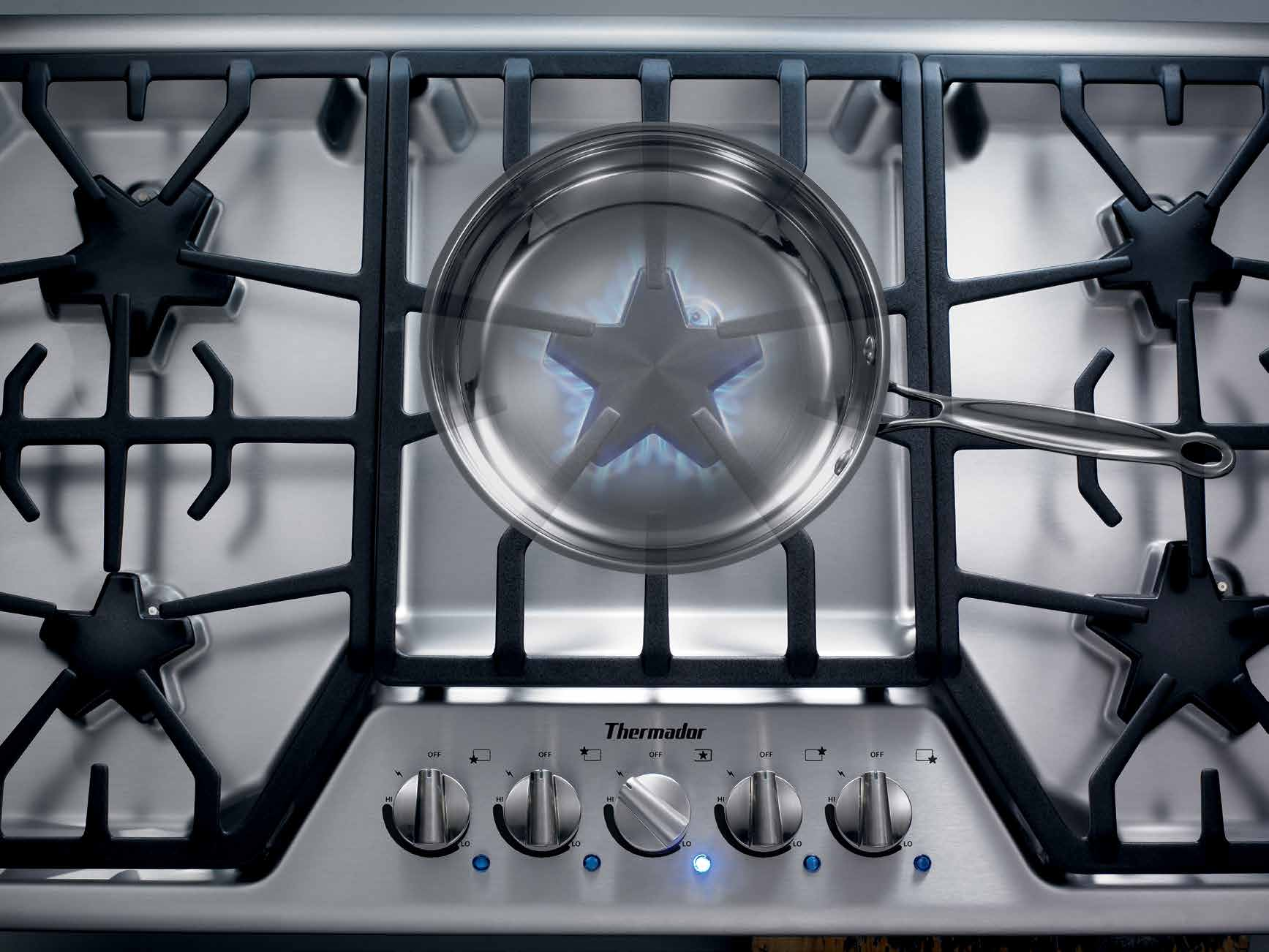 C El Ebr Atin G 10 0 Yea R S Of Inn Ova Tion Real Innovations For Thermador Mbes Microwave Wiring Diagram The Cooktop All Other Cooktops Want To Be Our Exclusive Patented Star Burner