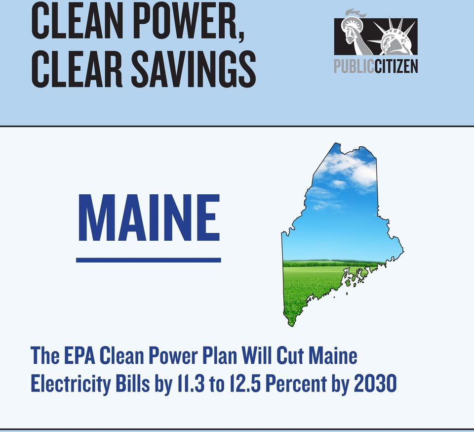 Plan Will Cut Maine ity s