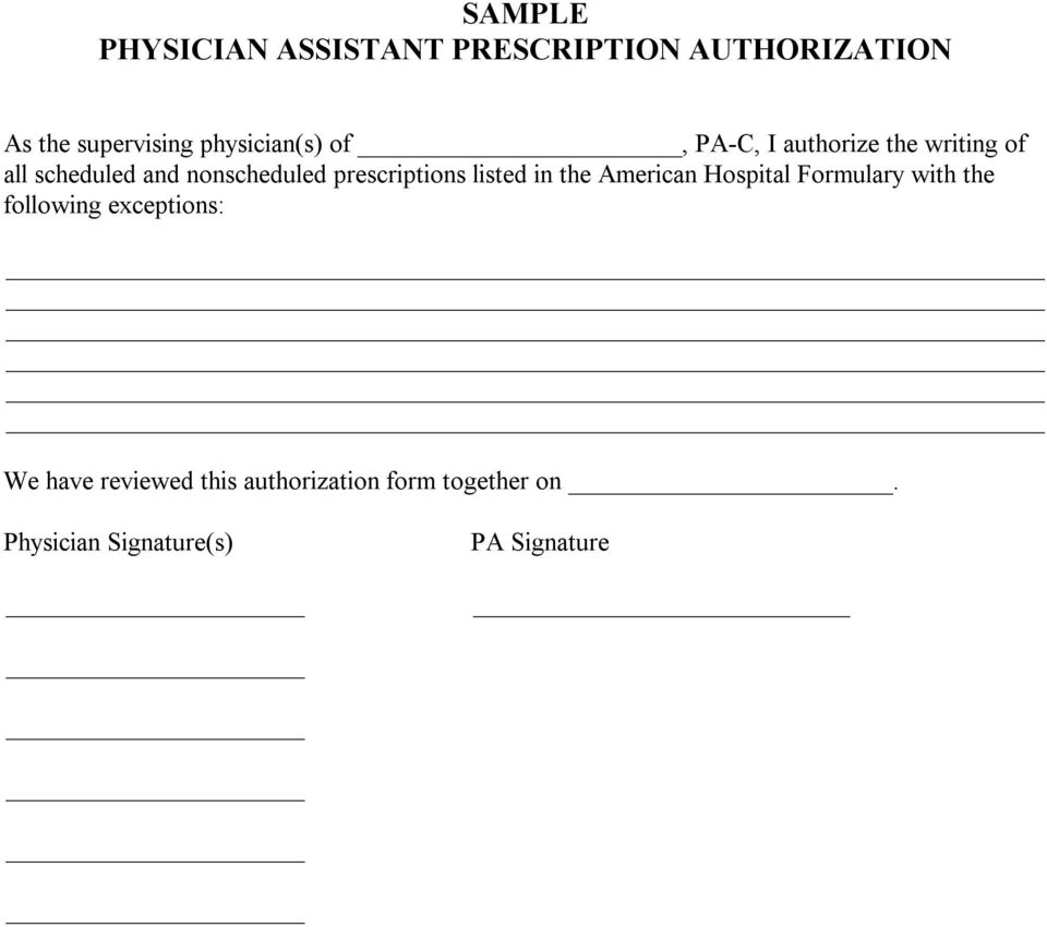 prescriptions listed in the American Hospital Formulary with the following