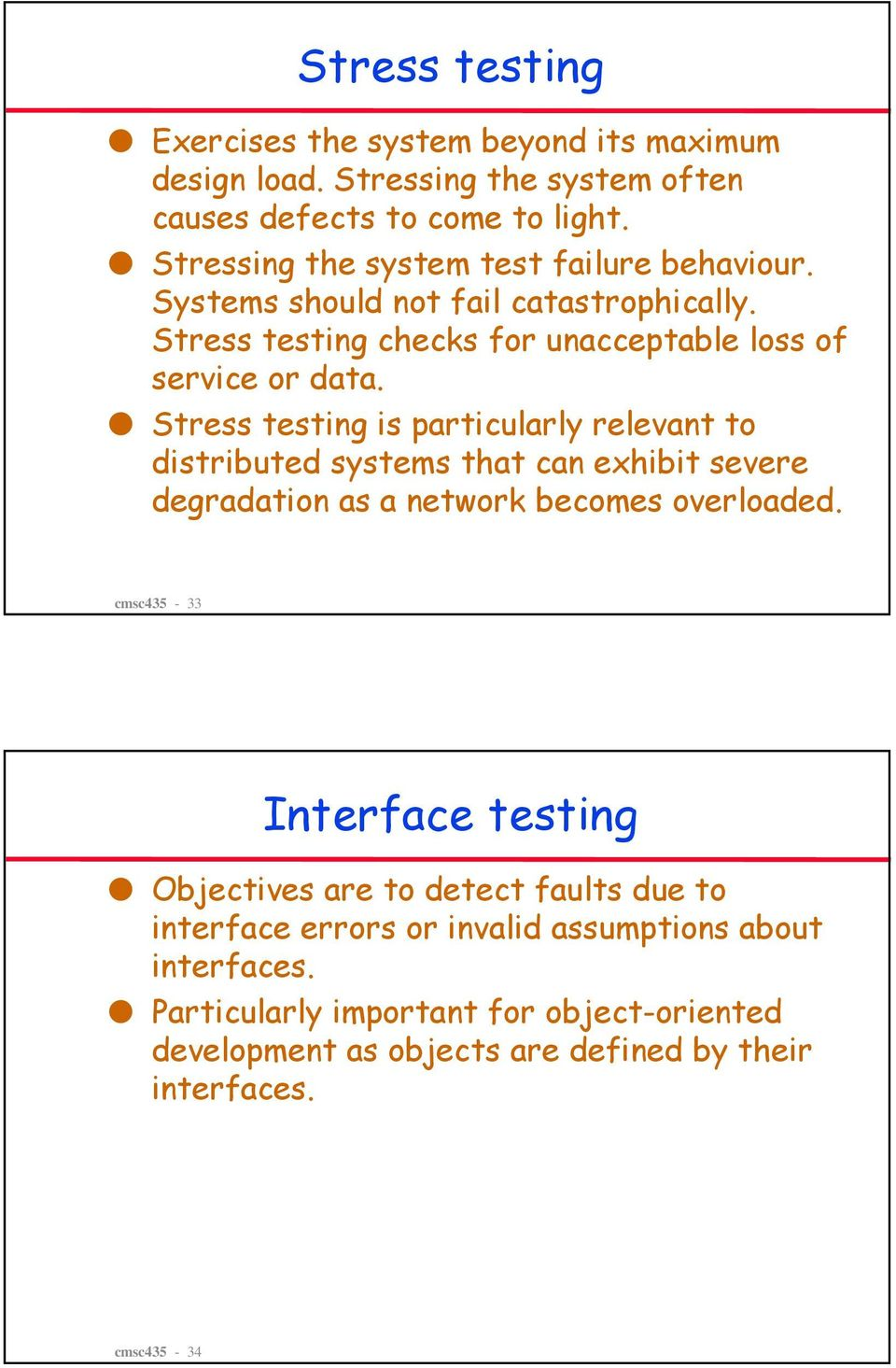 Software testing  Objectives - PDF
