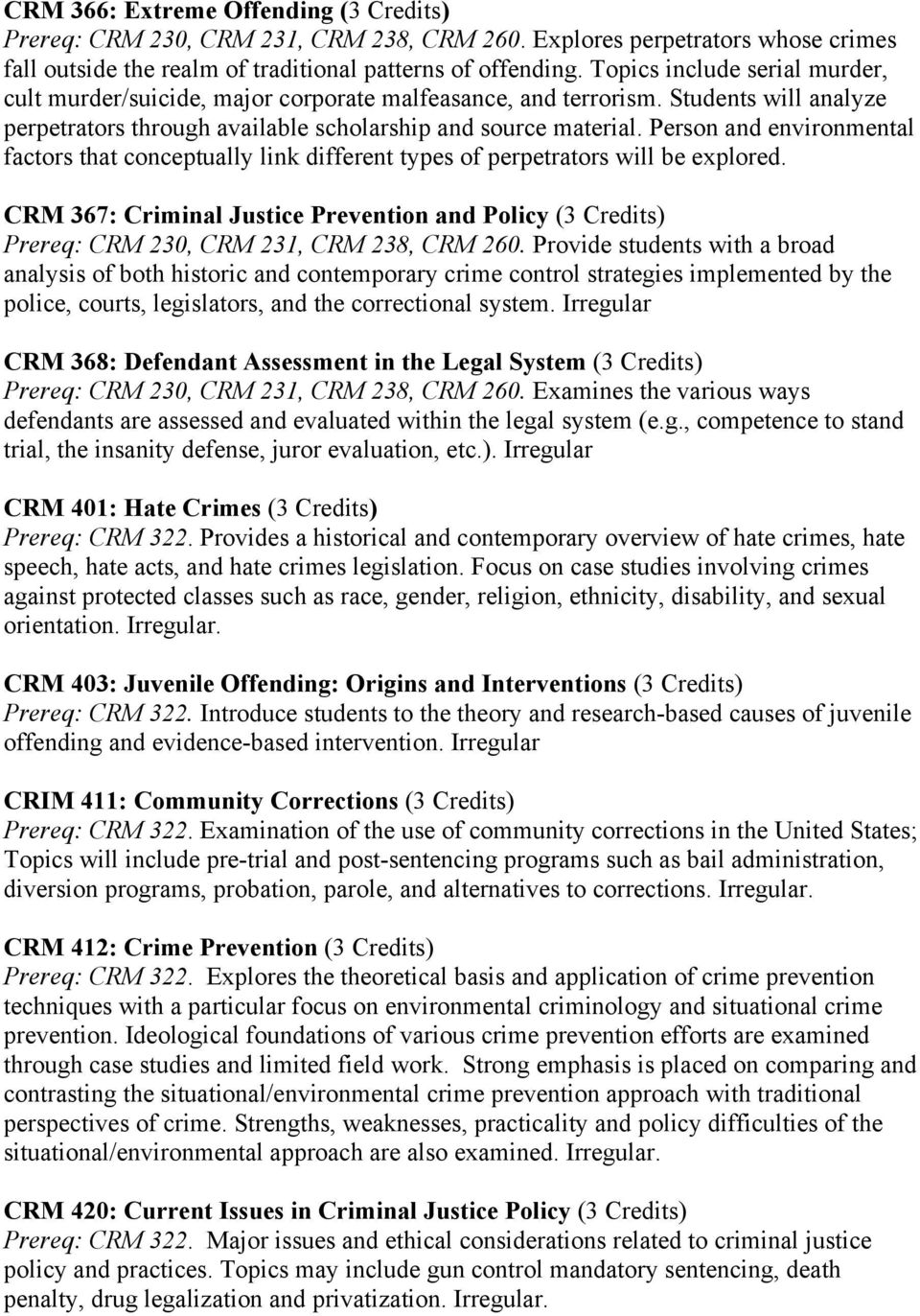 ethical issues criminal justice topics