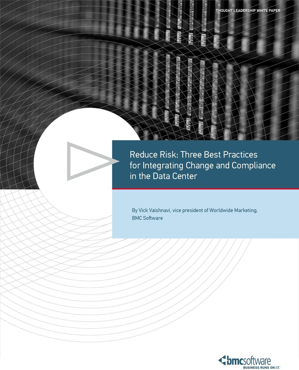 Compliance in the Data Center By Vick