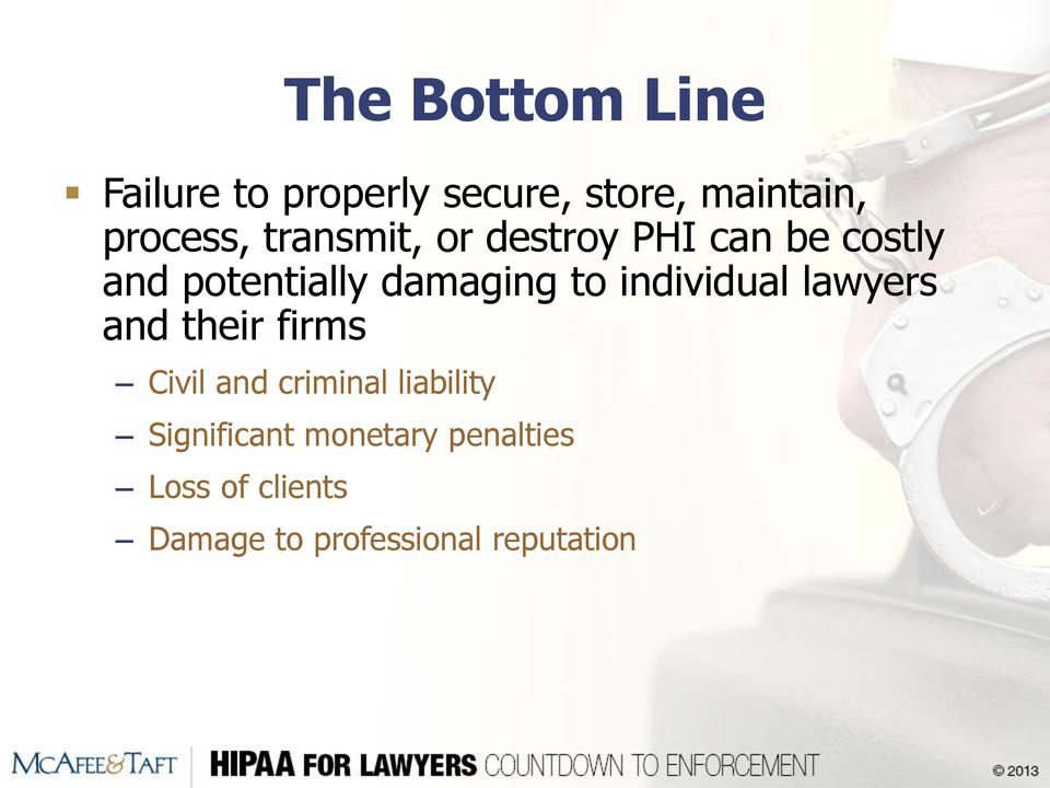 individual lawyers and their firms Civil and criminal liability