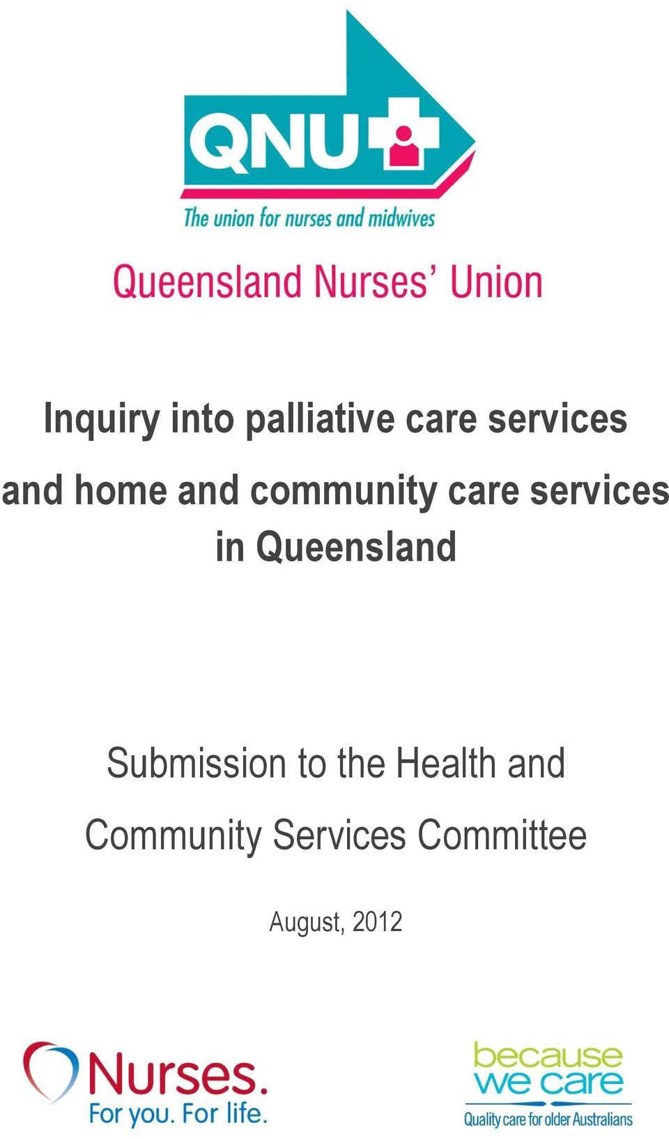 Queensland Submission to the Health and