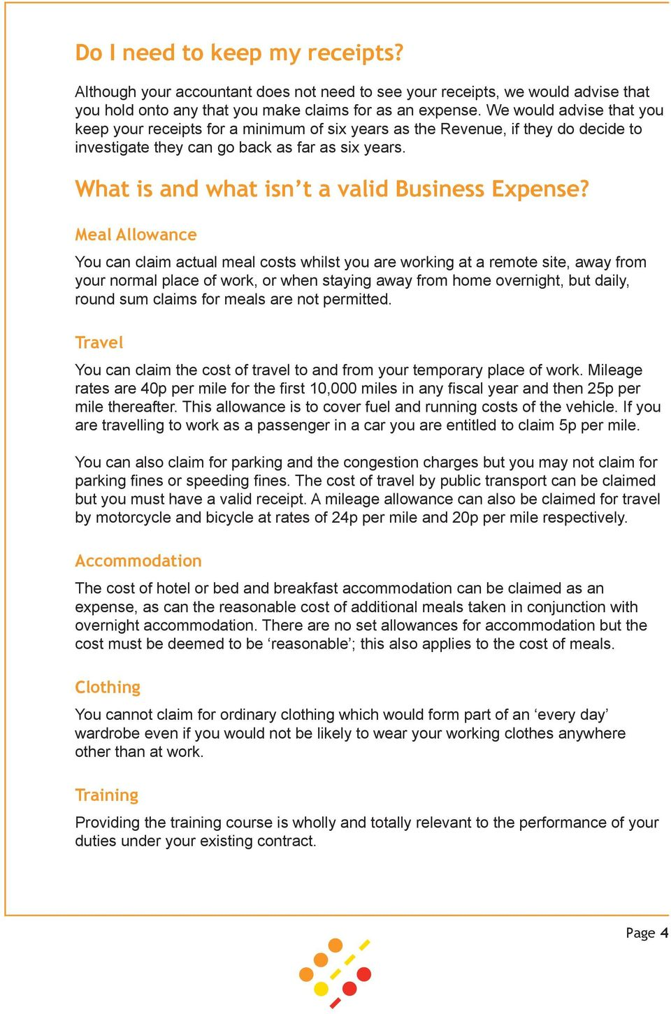What is and what isn t a valid Business Expense?
