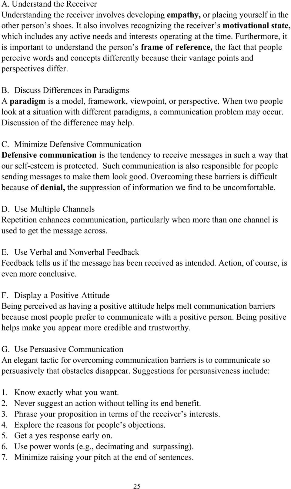 CHAPTER 3: INTERPERSONAL COMMUNICATIONS - PDF