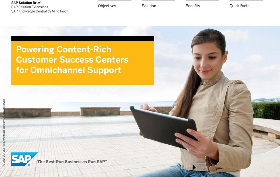 Objectives Powering Content-Rich