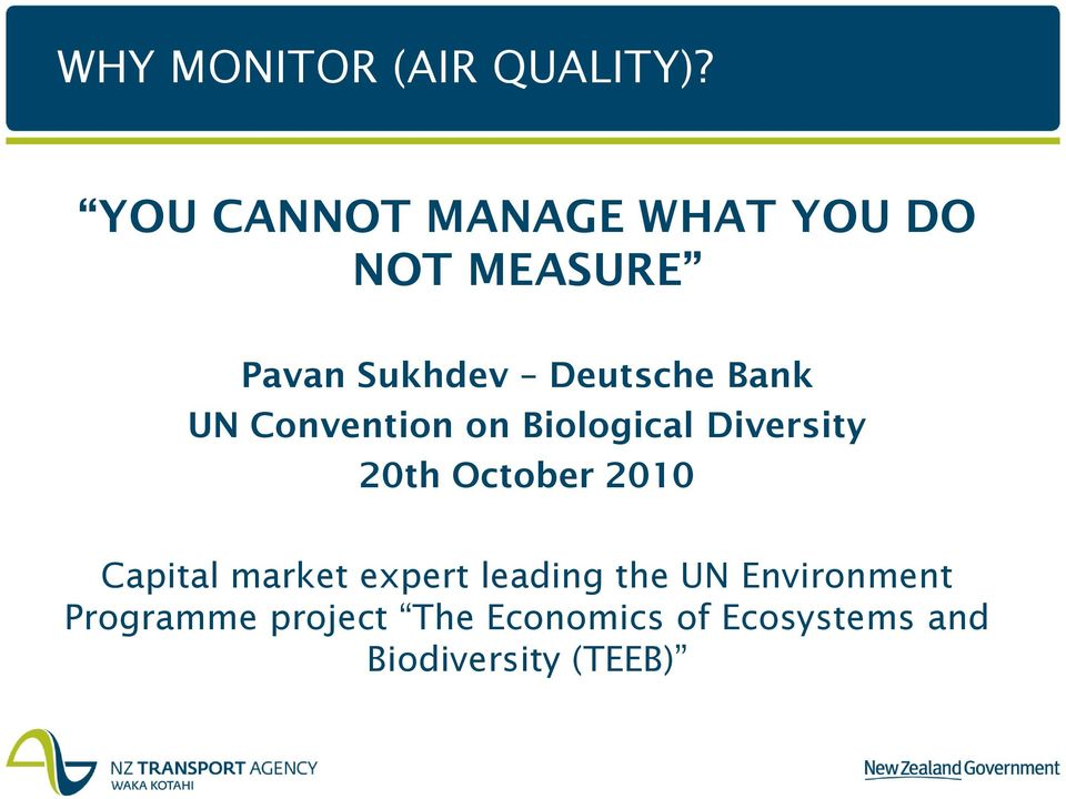 NZTA TRANSPORT-RELATED AIR QUALITY MONITORING NETWORK - PDF