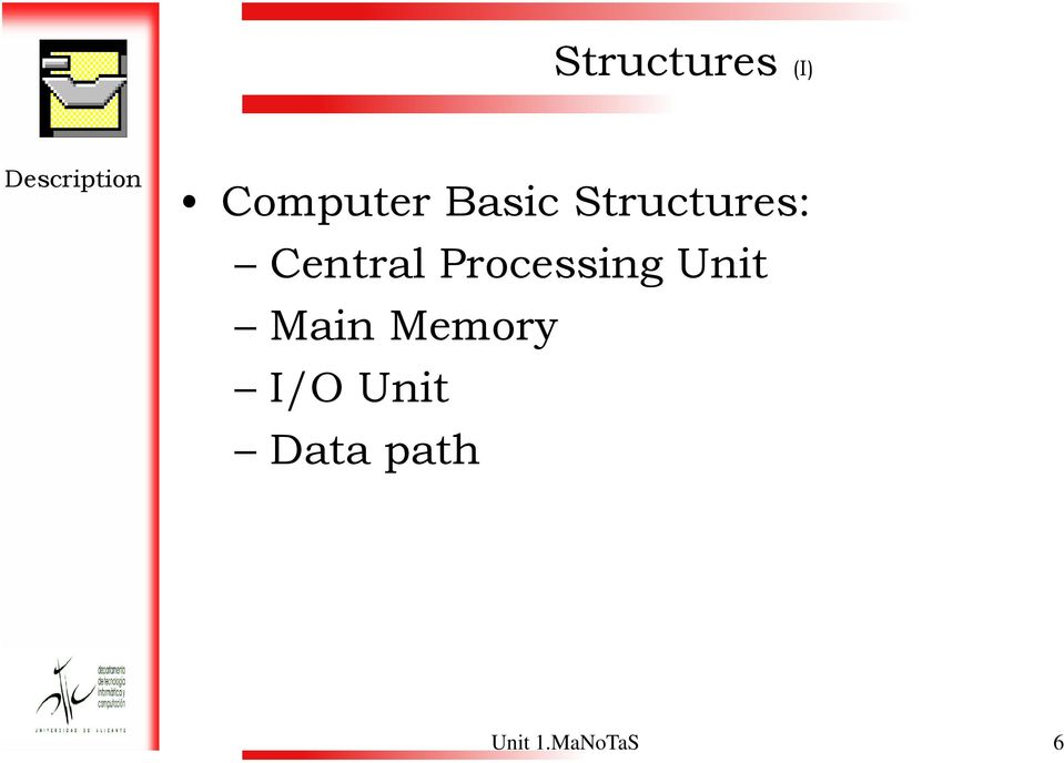 Central Processing Unit Main