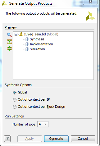 Integrating LogiCORE SEM IP in Zynq UltraScale+ Devices