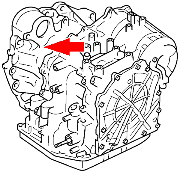 Automatic Transmission Serial Number Locations