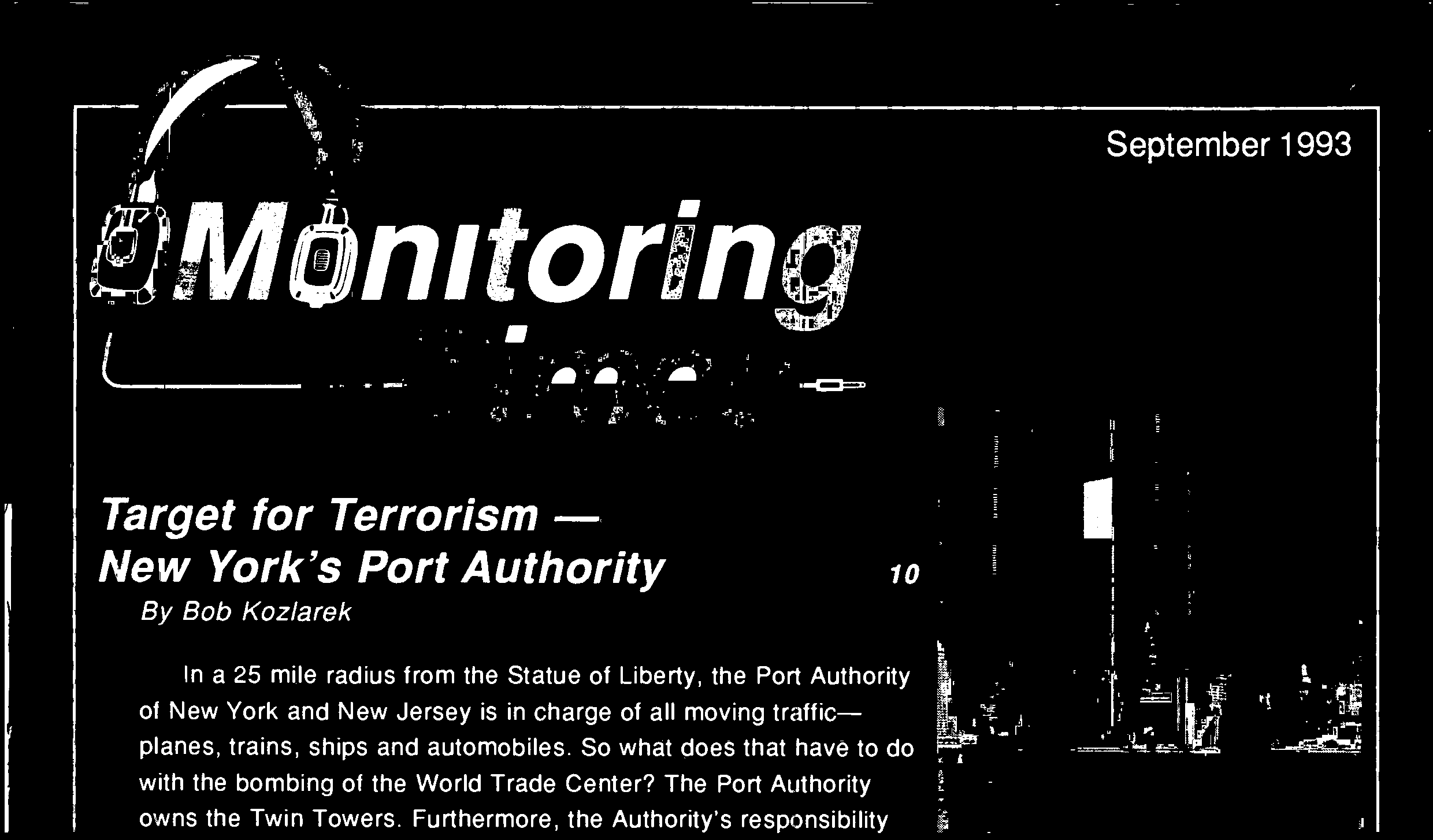Terrorism Monitoring the - PDF