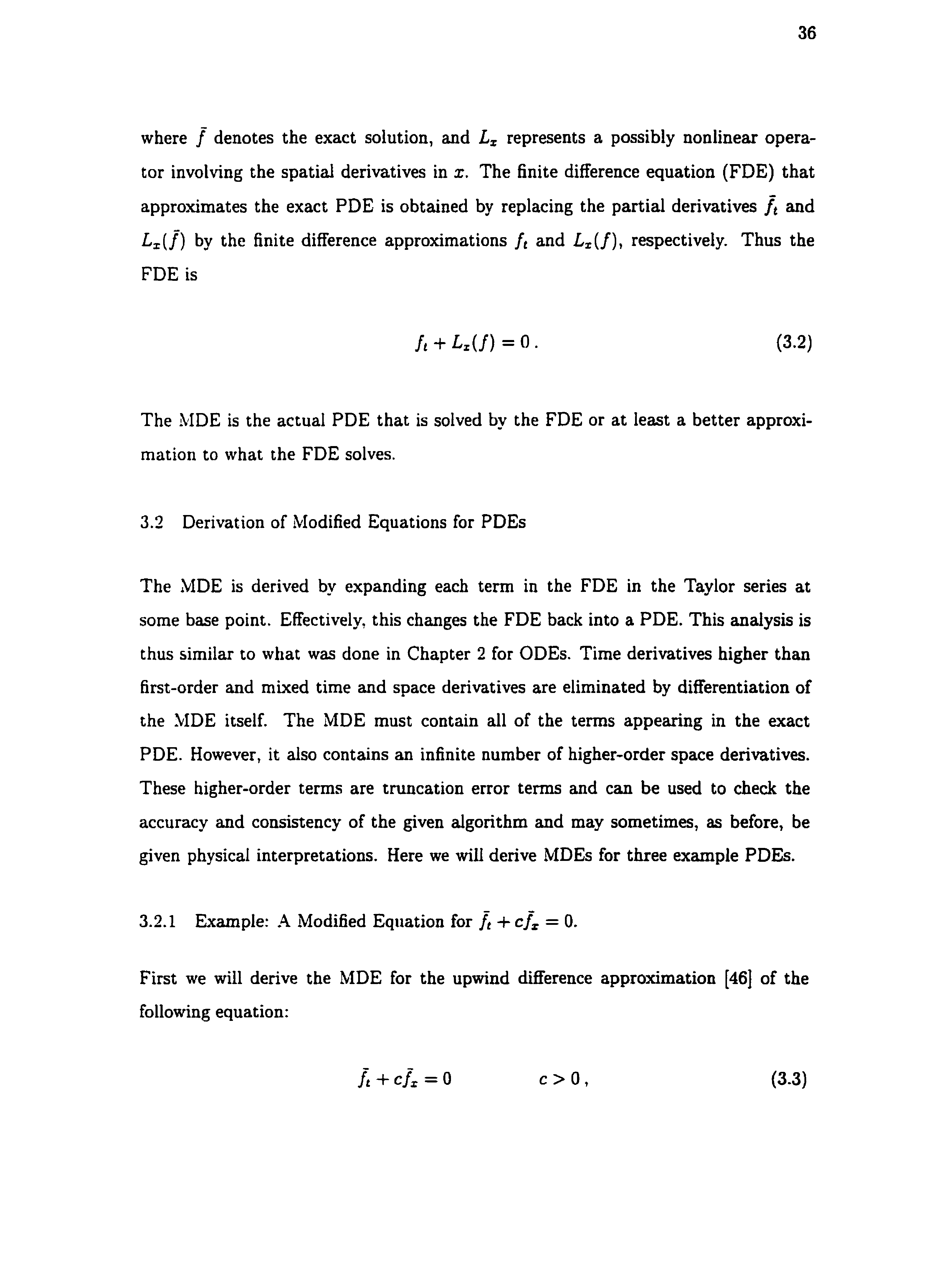 AN EXPLORATION OF COMPACT FINITE DIFFERENCE METHODS - PDF