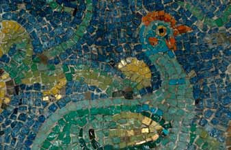 Best Vitreous Glass Tesserae Craft Tiles 203 Dark Turquoise 110mm Mosaic Tiles