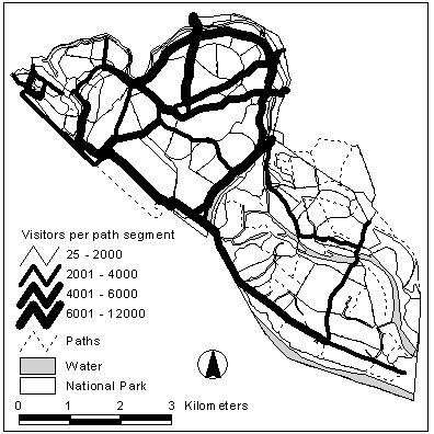 Monitoring And Management Of Visitor Flows In Recreational And