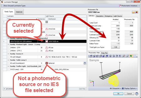 ElumTools is a fully-integrated lighting calculation Add-in