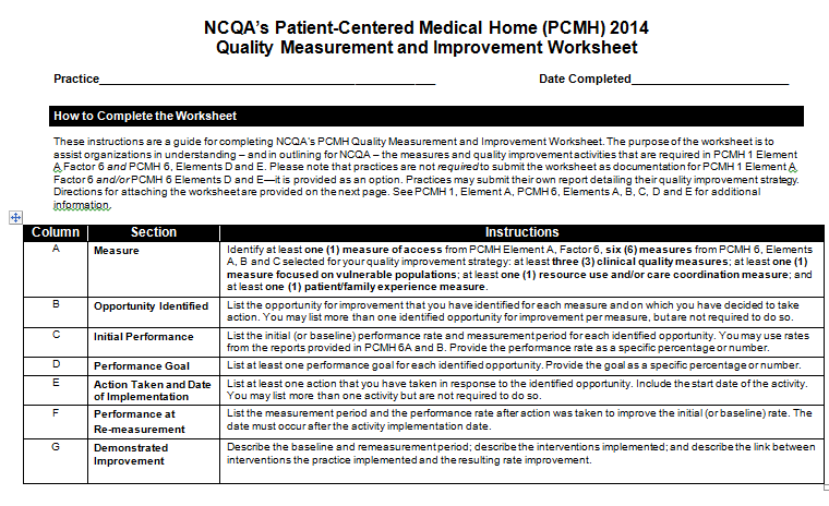 Patient-Centered Medical Home (PCMH) Purpose of this Seminar - PDF