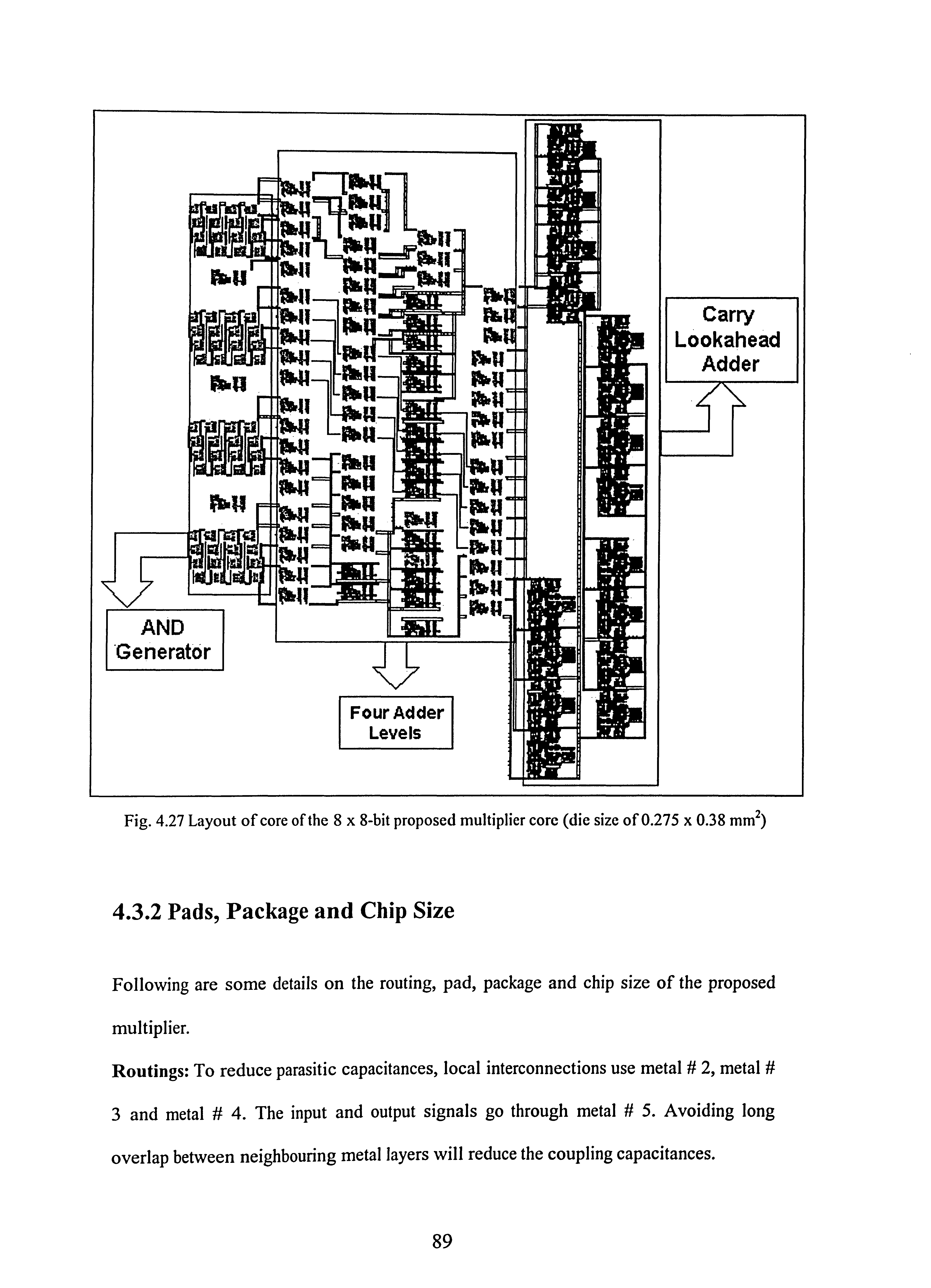 A 18v 11 Ghz Novel Pdf Adder Circuit I Have Successfully Drawn 8 Bit Full Carry Lookahead And Generator F Our Dder L Evels Fig 427 Layout Of