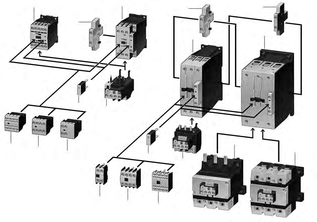 1 1 Iec Contactors And Starters Contents Description Relays And