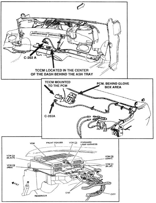 l60e and l80e pdf 1964 Chevy Impala Cars figure 6 1994 1 2 thru 1996 t truck tccm and connector c 202a