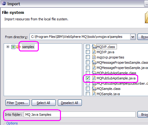 Using Eclipse to develop Java and JMS Programs for WebSphere