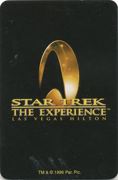 4. Star Trek: The Experience (1996/1998) Star Trek: The Experience was an