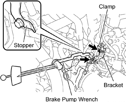 Technical Instructions For Safety Recall D0h Brake Booster Pump