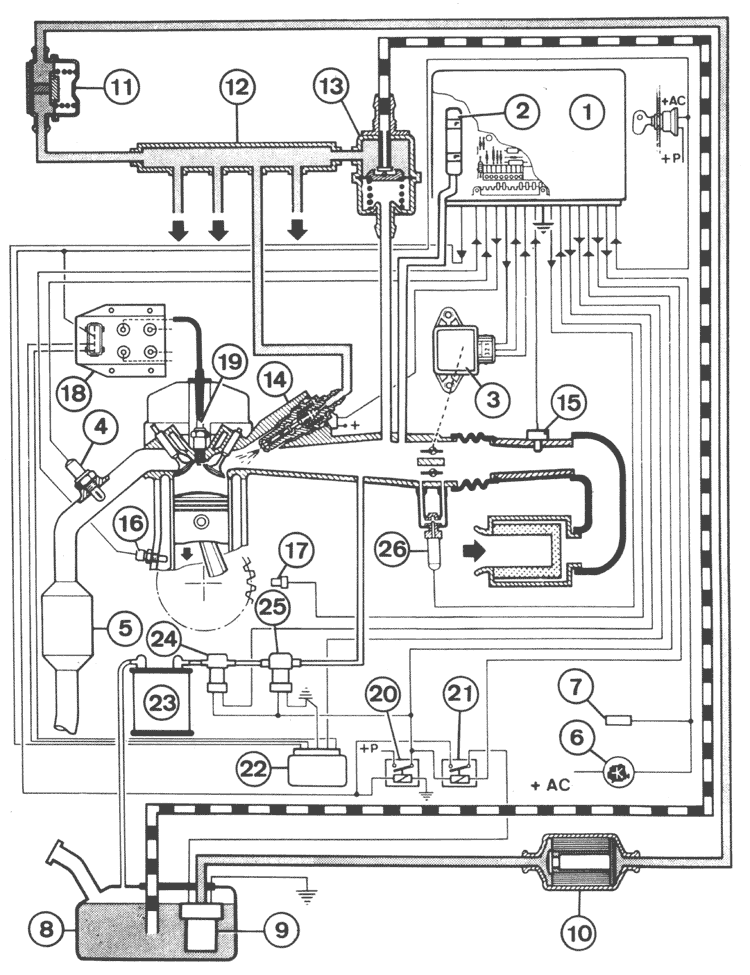7 3 Liter Engine Fuel System Diagram