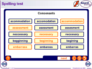 Year 9 Contents  Spelling Starters  Vocabulary Starters