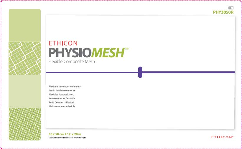 URGENT: FIELD SAFETY NOTICE ETHICON PHYSIOMESH Flexible Composite