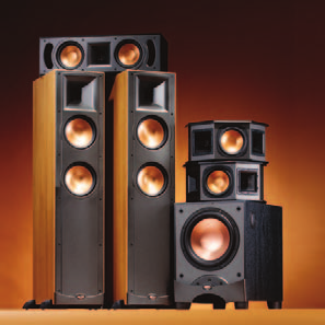 REFERENCE SERIES BY KLIPSCH  A Legend in Sound, A Tradition