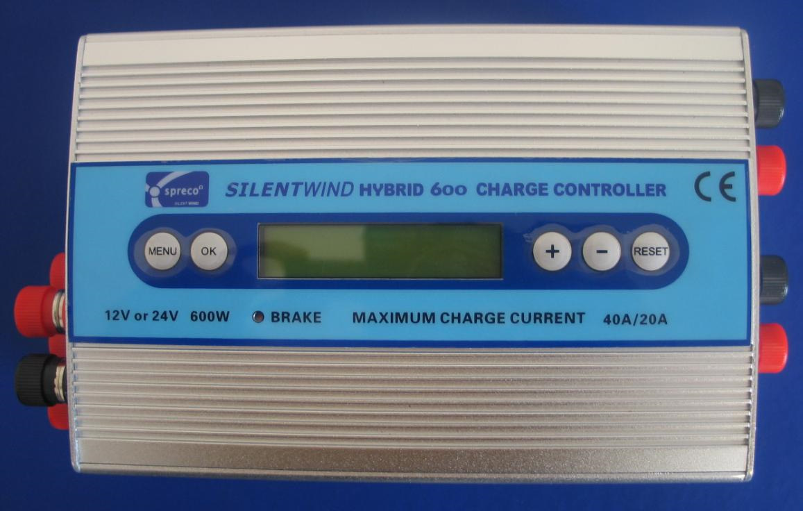 Instruction Manual Hybrid Charge Controller 600 With Lcd 12v 24v 15amp Pwm Solar Battery Charger Circuit 1 Multi Function Display