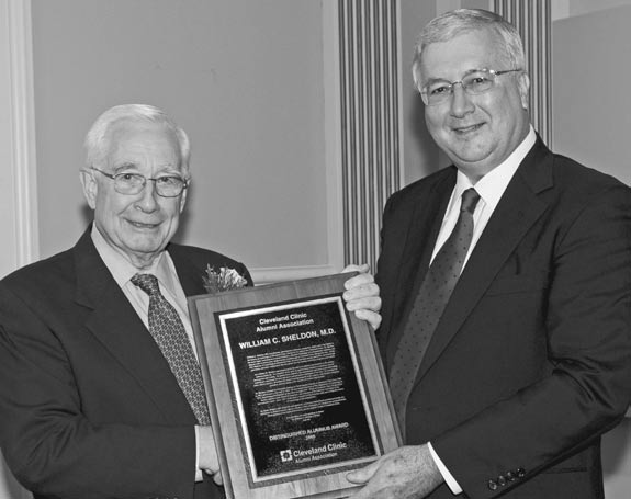 Connection  Distinguished Alumnus Award A Surprise for Sheldon