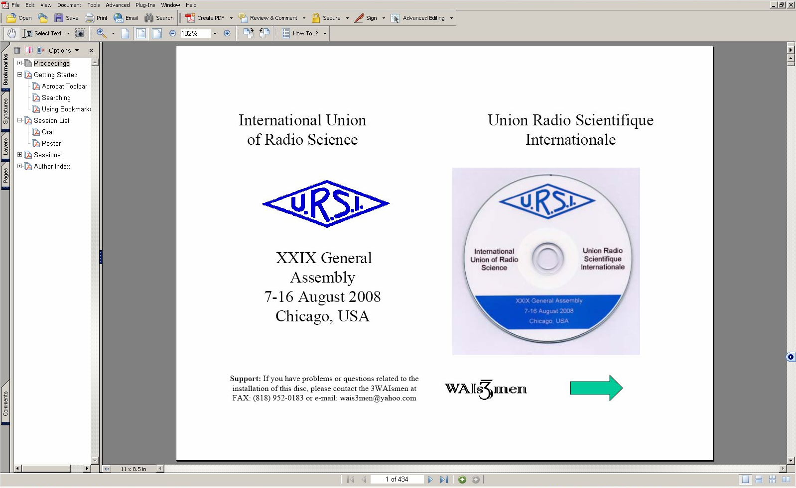 International Union Of Radio Science Scientifique Displaying 20gt Images For Solution Example Internationale Xxix General Assembly 7 16 August 2008 Chicago Usa Pdf
