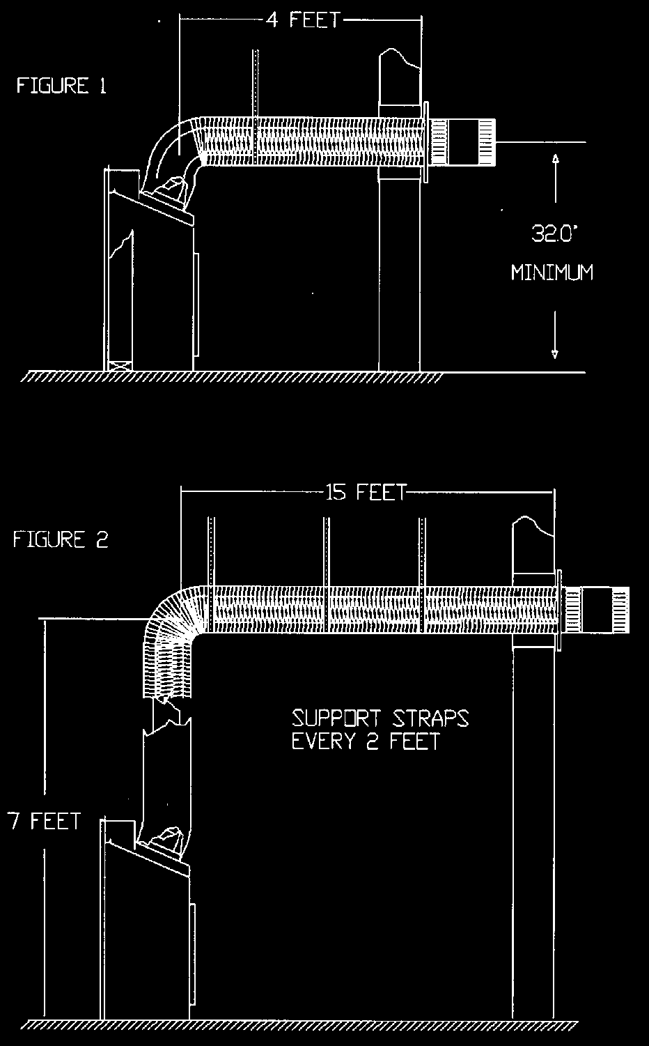 Installation Instructions Pdf Millivolt Gas Valve Wiring Diagram On Infrared Heater Venting Routes And Components Since It Is Very Important That The Vent System Maintain Its Balance