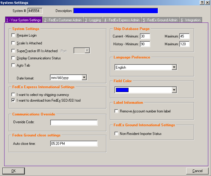 download fedex manager