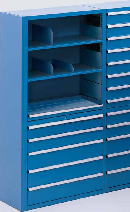Lista Storage Wall Features The Lista Storage Wall System Is Packed Wall To  Wall